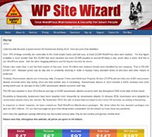 WP Site Wizard Total WordPress Maintenance
