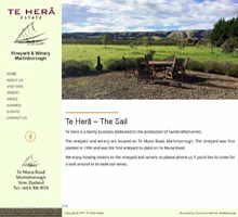 Te Hera Estate Martinborough