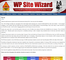 WP Site Wizard Total WordPress Maintenance